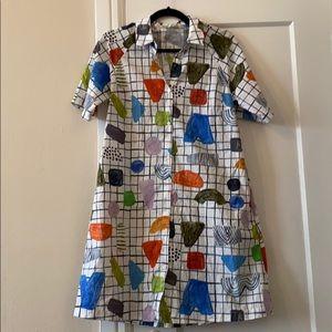 Julia Flanagan x Gorman Dot Com Shirt Dress